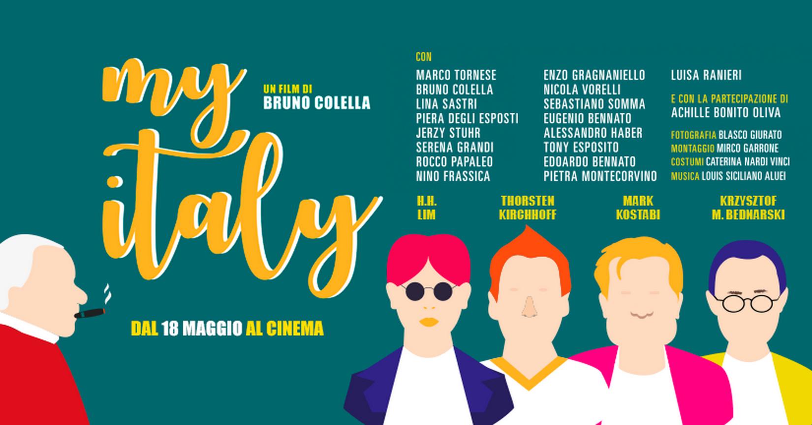 My Italy - Bruno Colella - banner