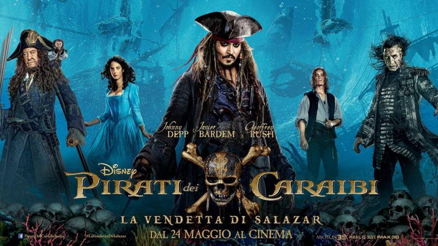 Sbarca nelle sale italiane Pirati dei Caraibi –La vendetta di Salazar, quinto capitolo della celebre saga con Johnny Depp, che stavolta se la vedrà con il fantasma del crudele Javier […]