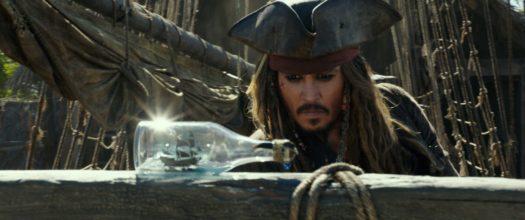"""Johnny Depp in """"Pirati dei Caraibi - La vendetta di Salazar"""""""