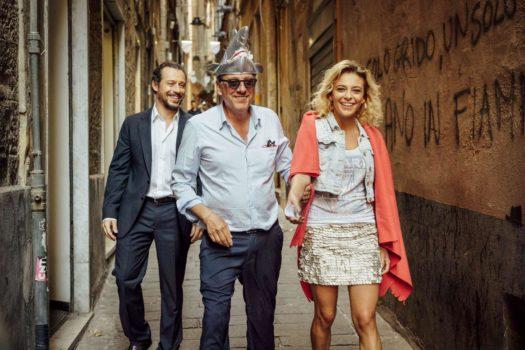 """Stefano Accorsi, Sergio Castellitto e Jasmine Trinca in """"Fortunata"""""""