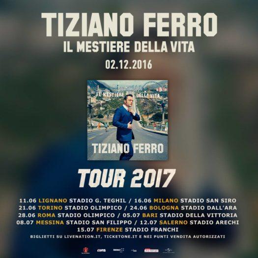 Tiziano Ferro - Il mestiere della vita Tour 2017