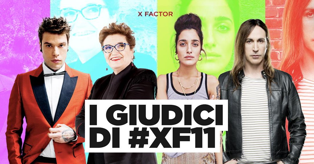 X-Factor 2017 - I giudici