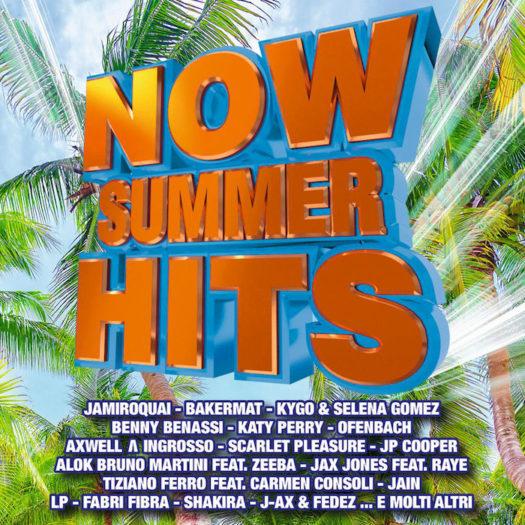 Now Summer Hits è la più alta nuova entrata tra le compilation