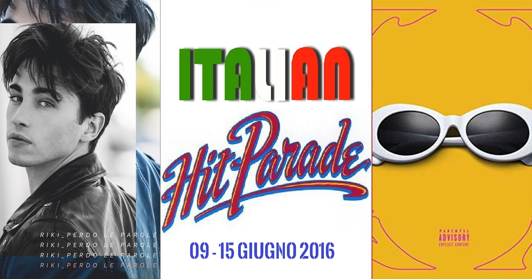 Hit Parade 16-06-2017 Sfera Ebbasta