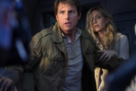 Tom Cruise e Annabelle Wallis in La Mummia