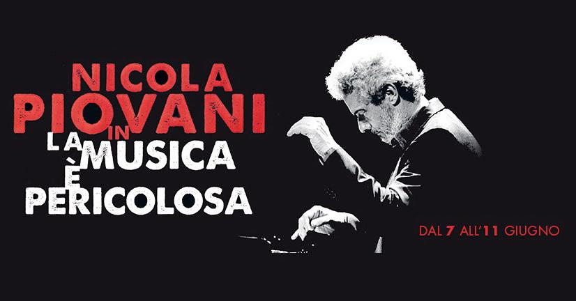 La musica è pericolosa è il bel concerto-spettacolo di Nicola Piovani, che esegue al pianoforte i suoi brani più celebri (e non solo) tra aneddoti e racconti vari, accompagnato da […]
