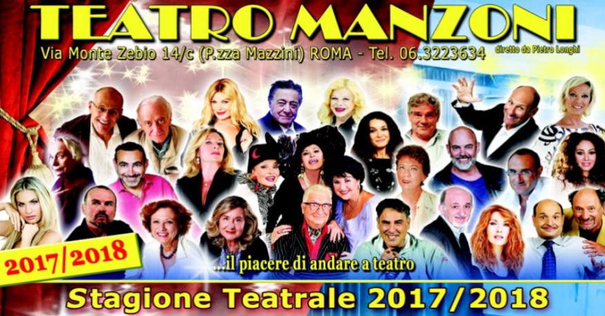 Al Teatro Manzoni di Roma la stagione 2017/18 si preannuncia ricca di spettacoli divertenti, con volti molto noti del cinema italiano e del teatro nazionale. Alla conferenza stampa della presentazione […]