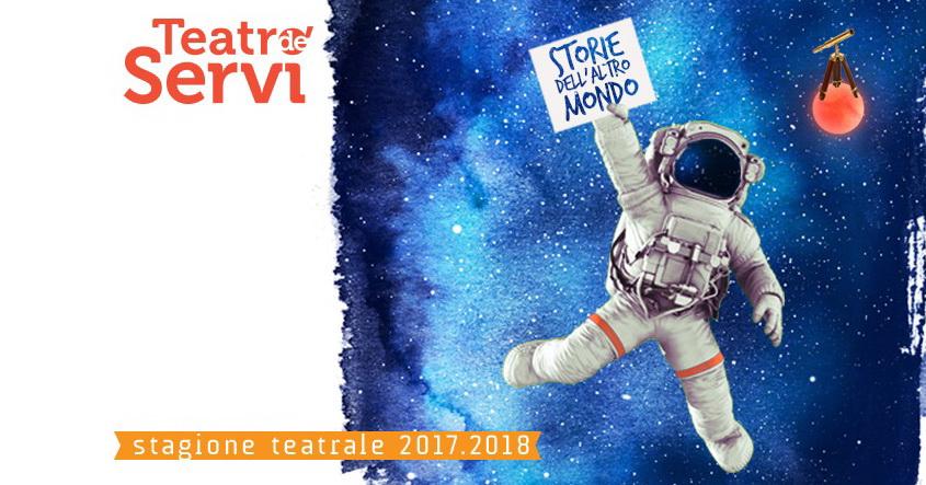 Assaggi di Stagione è la doppia serata che ha presentatoin questi giorni brevi estratti degli spettacoli che saranno in cartellone al Teatro de' Servi, dove sbarcano Storie dell'altro mondo, nella […]