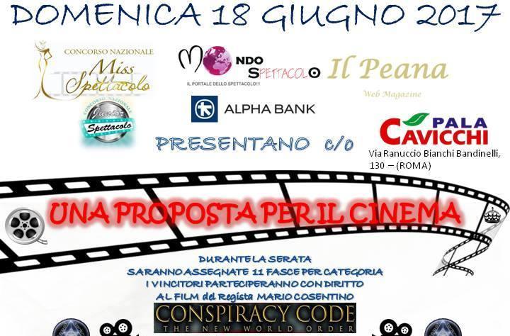 """Domenica 18 giugno al Pala Cavicchi in via Ranuccio Bianchi Bandinelli 1330 a Roma, in collaborazione con Miss Spettacolo, Mondospettacolo.com, Junior Spettacolo, """"Il Peana Web Magazine"""" di Gisella Peana, Se7en […]"""