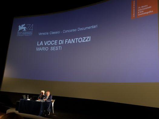 Venezia 74 - La voce di Fantozzi