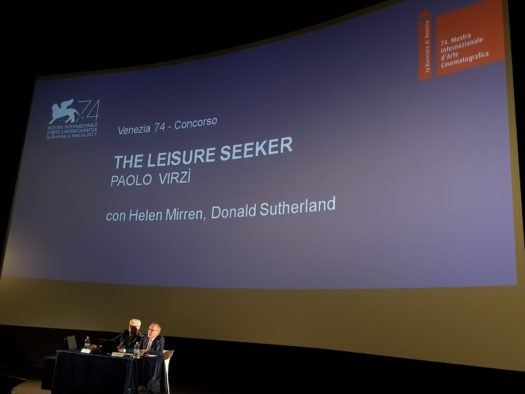 Venezia 74 - The leisure seeker
