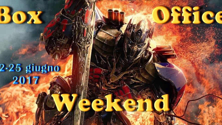 Ultimo appuntamento digiugno con la rubrica Box Office Weekend e gli incassi del fine settimana al cinema: tutti a vedere Transformers – L'ultimo cavaliere, restano sul podio La Mummia e […]