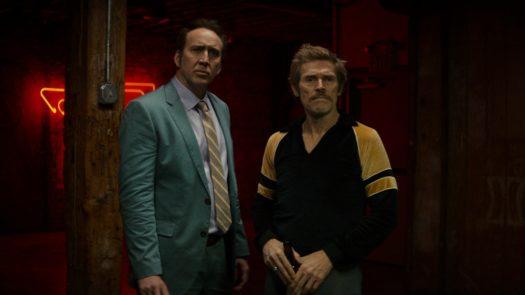 """Nicolas Cage e Willem Dafoe in """"Cane mangia cane"""""""