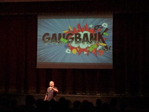 Gianluigi Paragone in Gang Bank