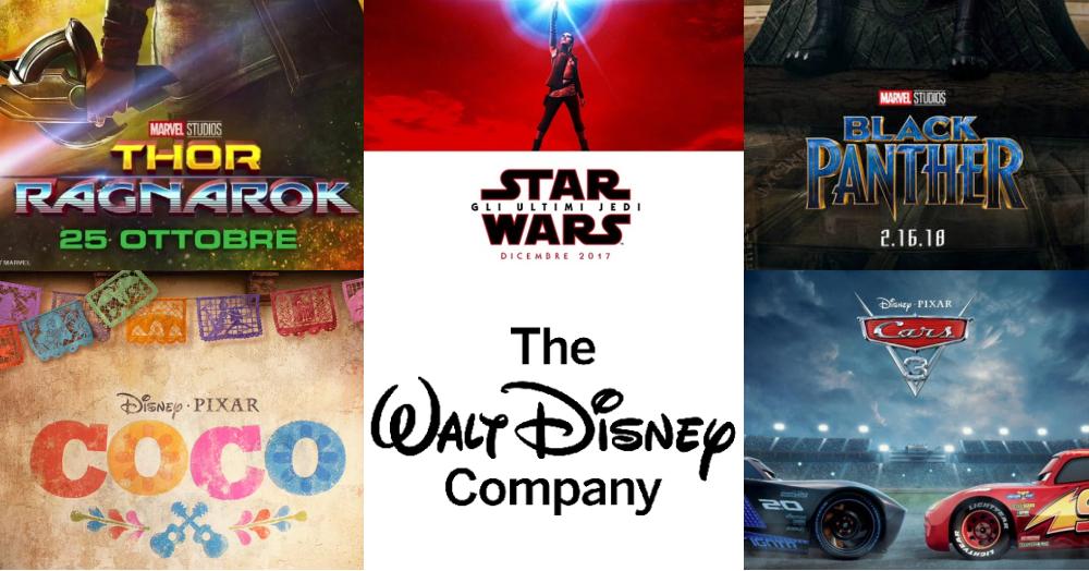 Listino Walt Disney 2017/18