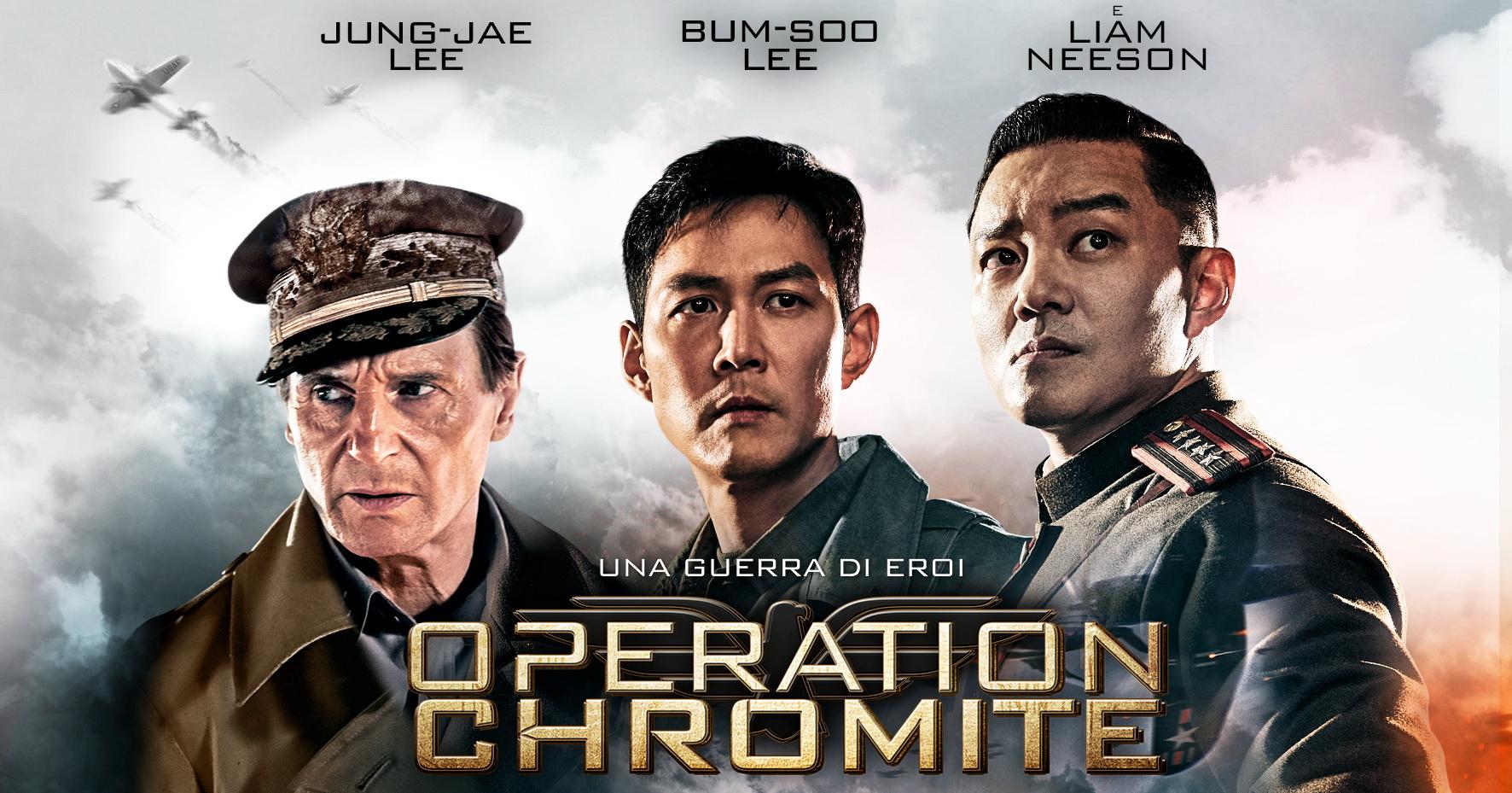 Operation Chromite è un film sulla guerra di Corea: ambientato nel 1950 mostra attraverso un montaggio serrato e incalzante le gesta di quelpopolo, aiutato dagli americani guidati da Liam Neeson. […]