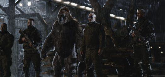 Ty Olsson e Woody Harrelson in The War - Il pianeta delle scimmie