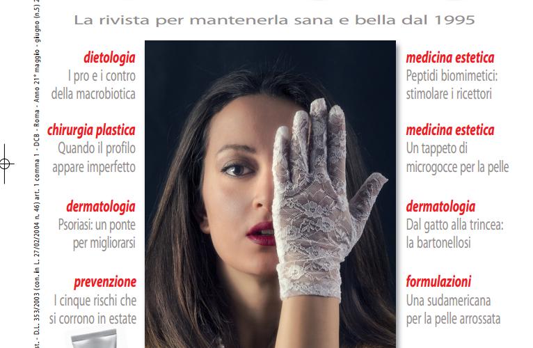 """Con oltre 22.000 copie in tutta Italia la rivista di dermatologia, medicina e chirurgia estetica """"la pelle"""" sceglie Lidia Laudani in copertina. Sono passate pochissime settimane e dopo il videoclip […]"""