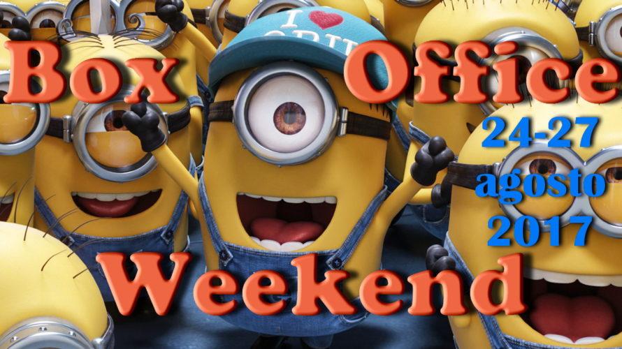 Ultimo appuntamento diagosto con la rubrica Box Office Weekend e gli incassi del fine settimana al cinema: l'atteso sequel d'animazione Cattivissimo me 3 sbaraglia la concorrenza con incassi (e medie) […]