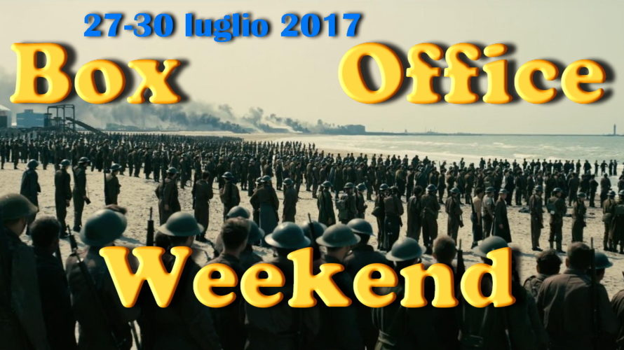 Ultimo appuntamento di luglio con la rubrica Box Office Weekend e gli incassi del fine settimana al cinema: classifica invariata con lo spassoso Spider-Man: Homecoming e il riflessivo The War – Il pianeta delle scimmie, […]