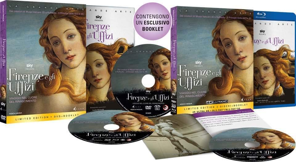 Firenze e gli Uffizi blu-ray dvd