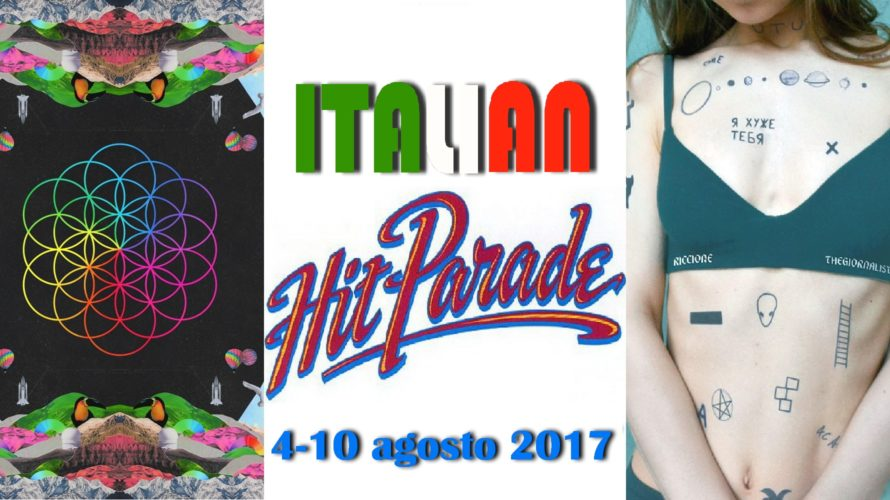 I Coldplay scalzano Riki dalla testa della classifica degli album con il loro Kaleidoscope. Tra i singoli anche J-Ax & Fedez cedono lo scettro, stavolta ai Thegiornalisti con Riccione. Gli […]