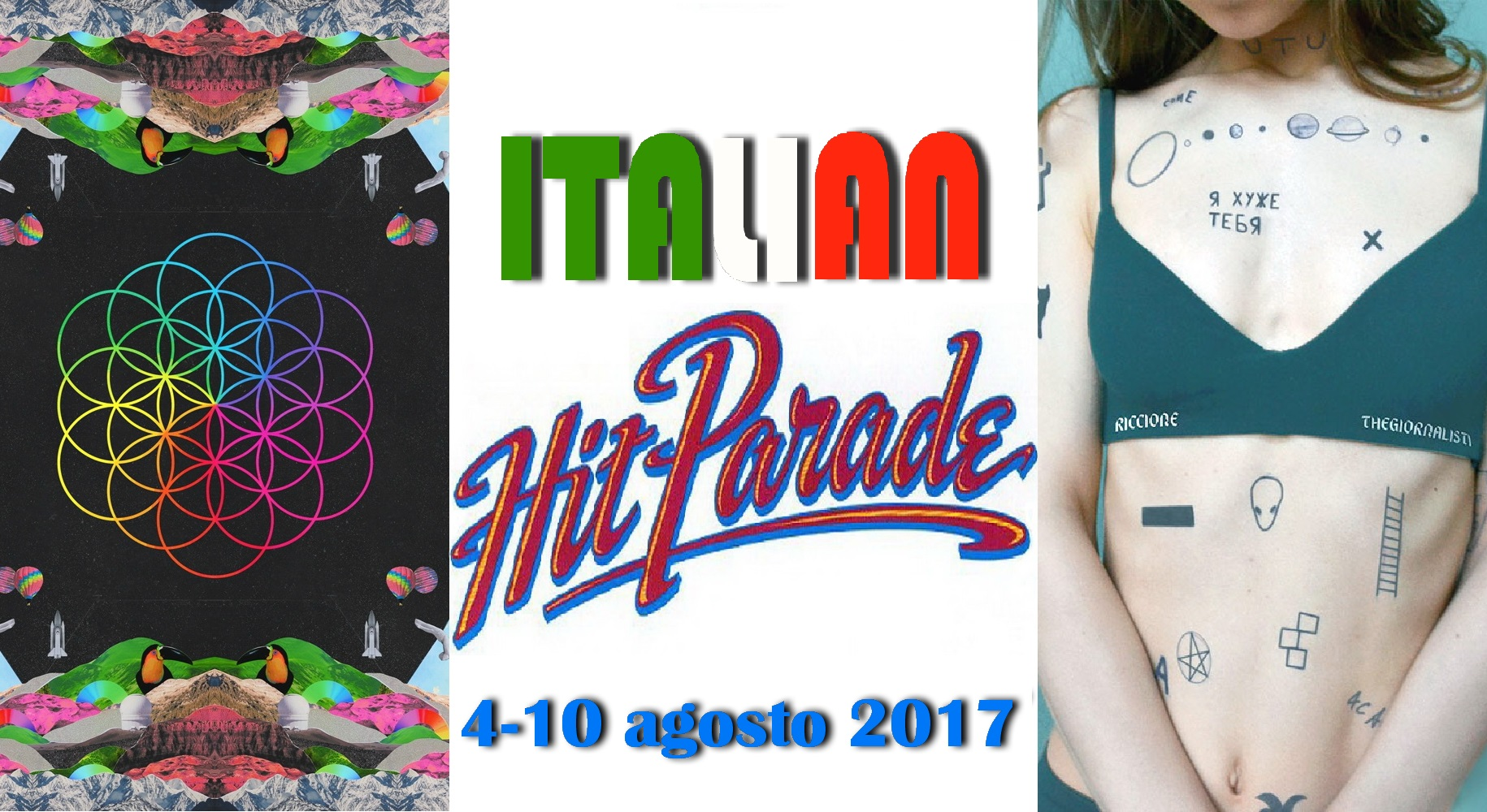 Hit Parade 11-08-2017 Coldplay