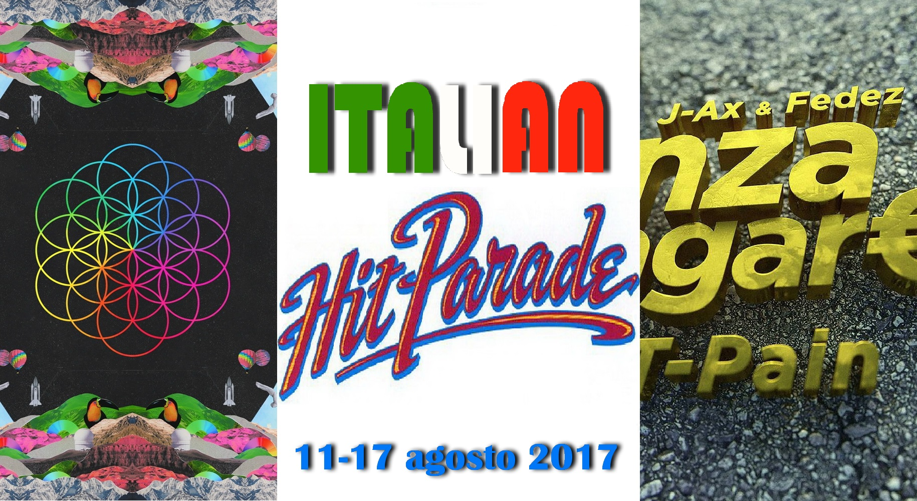 Hit Parade 18-08-17 Coldplay