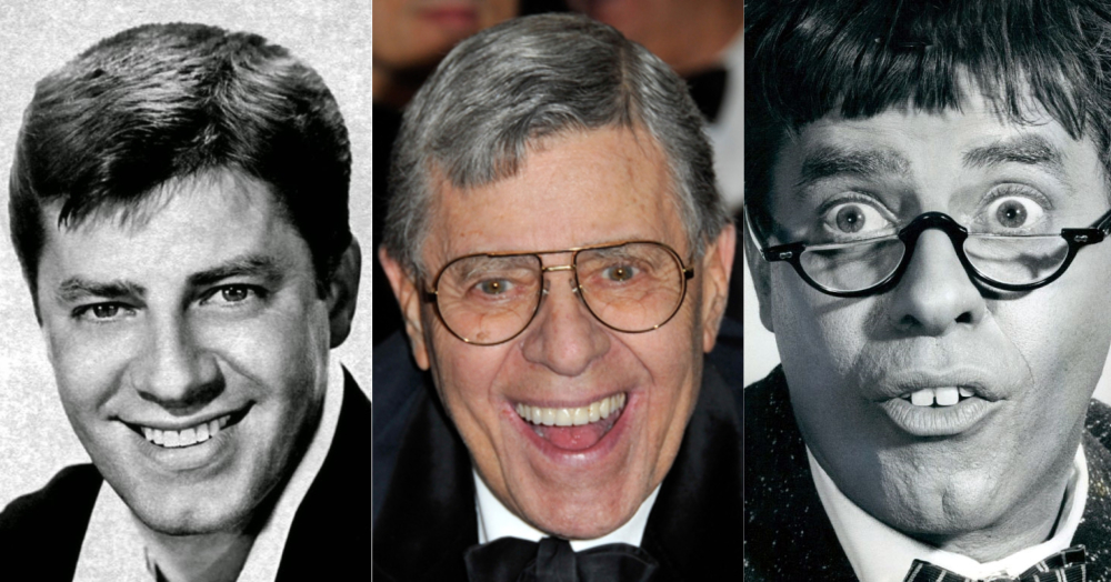 Jerry Lewis collage