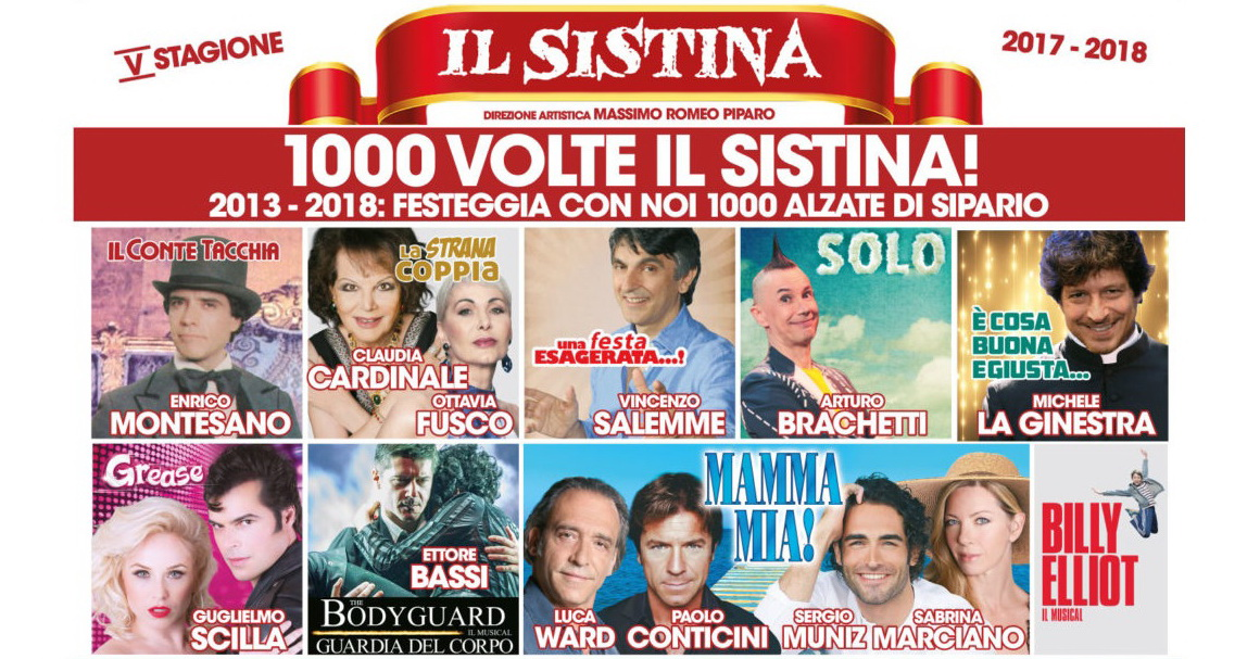Teatro Sistina 2017-18