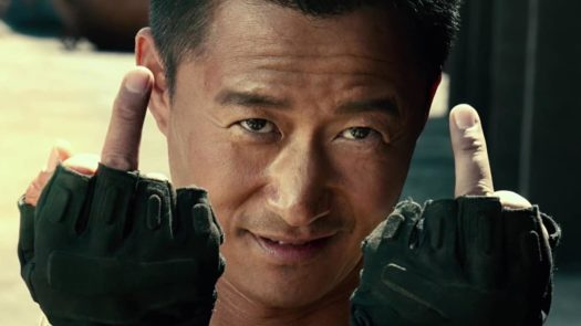 Wu Jing in Wolf Warrior 2