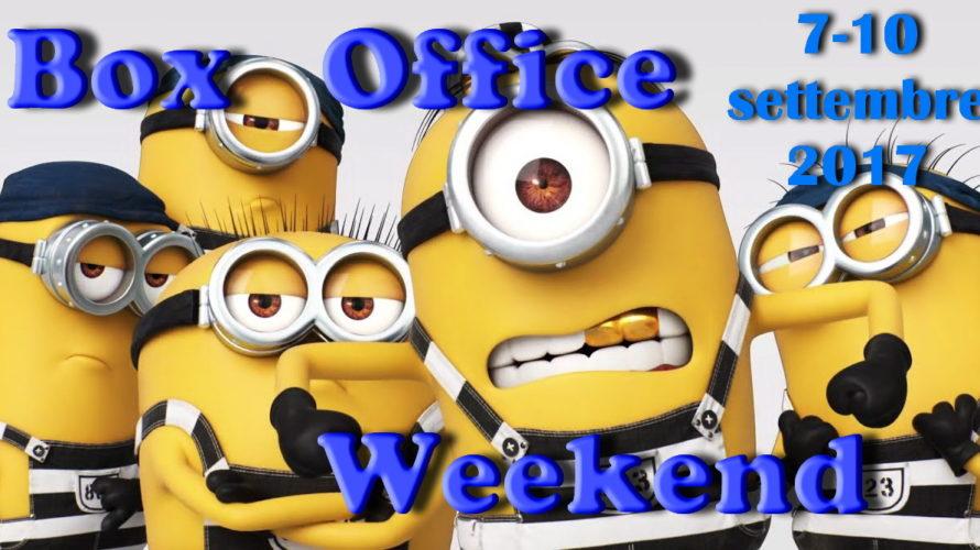 Nuovo appuntamentocon la rubrica Box Office Weekend e gli incassi del fine settimana al cinema: inarrestabile la marcia dell'animationCattivissimo me 3, tiene bene Dunkirk, buon esordio di BabyDriver, sorpresa La […]