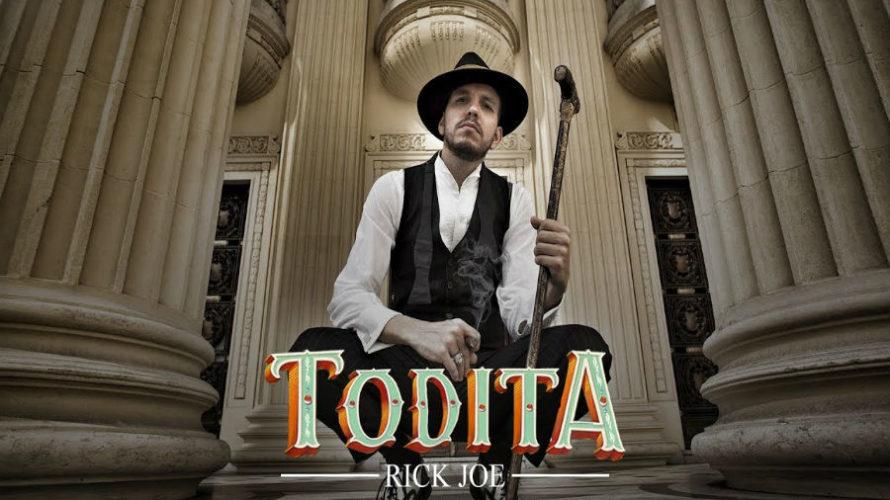 """""""Todita"""" di Rick Joe featuring Lary & Alma Inc è il primo singolo del produttore brasiliano Rick Joe per Gufo Records, etichetta discografica milanese sempre più attenta alle tendenze musicali […]"""