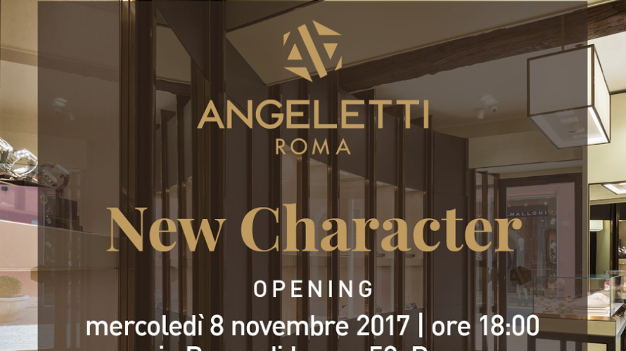 La famosa e storica gioielleria Angeletti, fondata nel 1940, la cui precedente sede era in Via Condotti, da sempre simbolo di eleganza e raffinatezza, inaugura il suo nuovo scintillante showroom […]