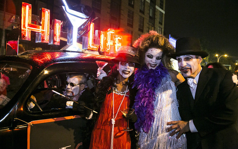 """It has been called """"New York'sCarnival.""""The AnnualHalloween Paradeis presented on the night of everyHalloweeninNew York City'sGreenwich Village. The Village Halloween Parade, initiated in 1973 by Greenwich Villagepuppeteerand mask maker Ralph […]"""