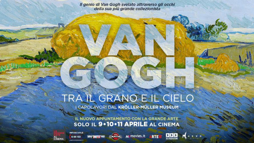 Van Gogh, tra il grano ed il cieloè un lungometraggio dedicato a Van Gogh (Zundert 1853- Auvers-sur-Oise 1890), il grande pittore olandese. Diretto da Giovanni Piscaglia, il film vanta l'attrice […]