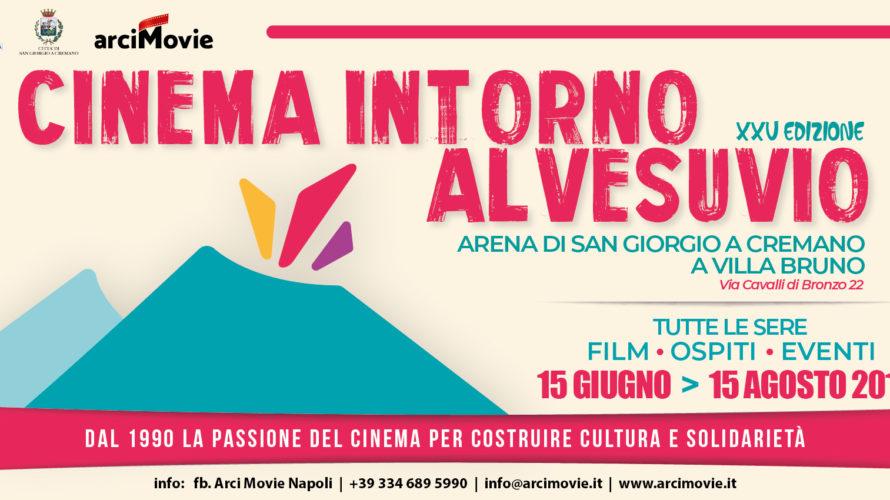 """Dal 15 giugno prende il via la XXV edizione di """"Cinema intorno al Vesuvio"""" a cura di Arci Movie a villa Bruno a San Giorgio a Cremano, arena di cinema […]"""