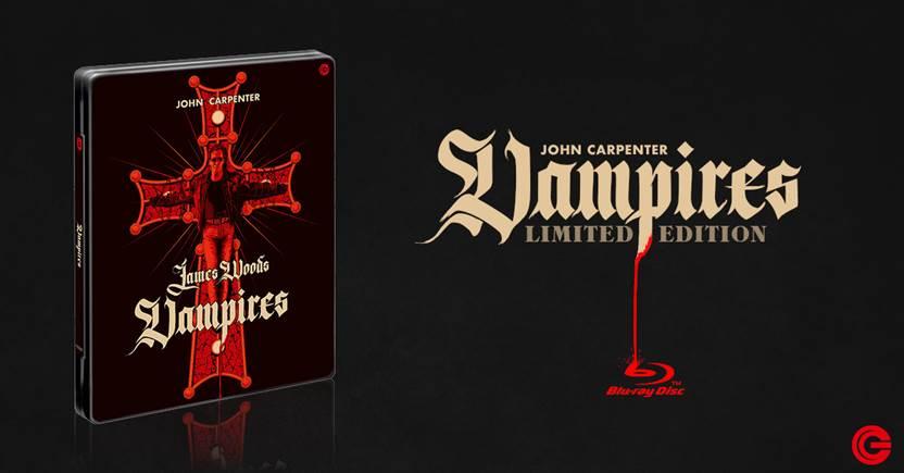 Moltissimi fan da tempo chiedevano a CG Entertainment che venisse pubblicato per la prima volta in alta definizione blu-ray il film cult di John Carpenter con James Woods, Vampires, il […]