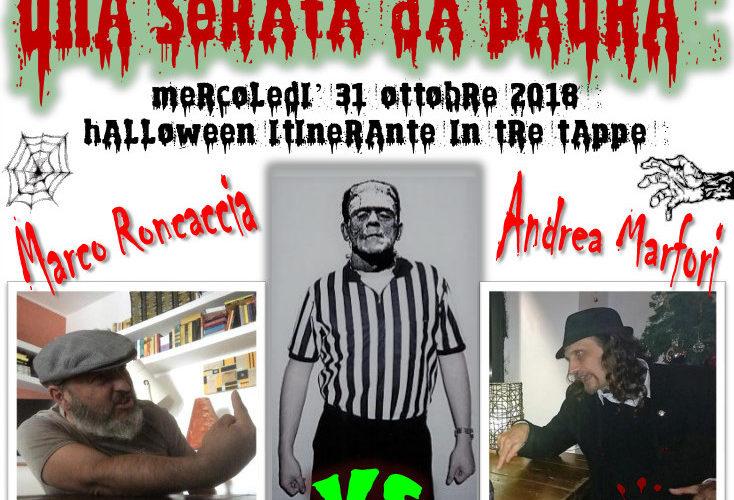 Una serata da paura, un Halloween itinerante in tre tappe è quello che prenderà forma il 31 Ottobre 2018 a Monterotondo (comune di Roma). Si comincerà, infatti, alle ore 19 […]