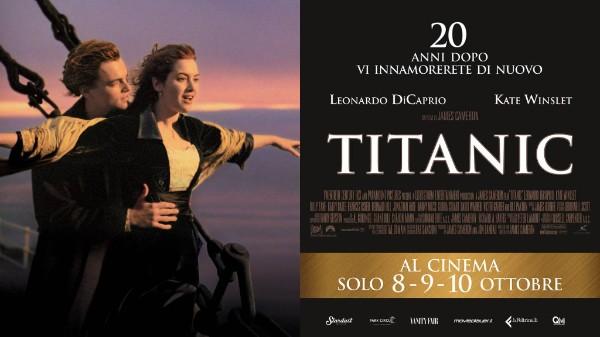 A vent'anni dall'uscita torna sul grande schermo Titanic, il capolavoro di James Cameron vincitore di undici premi Oscar. È questo l'evento speciale promosso da QMI Stardust per celebrare il compleanno […]
