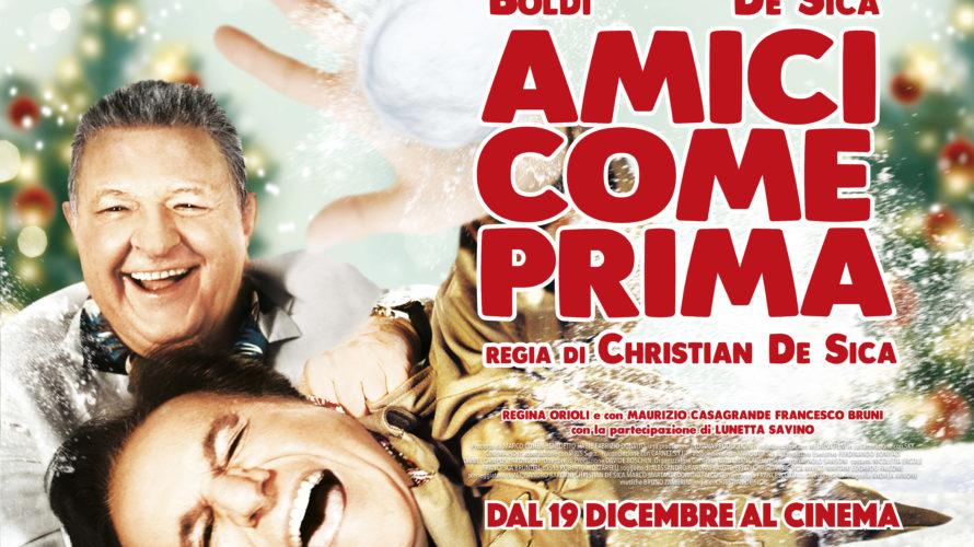 Medusa Film e Indiana Production presentanoAmici come primadi Christian De Sica, nel quale l'attore e regista romano tornerà a far coppia con lo storico collega Massimo Boldi. Cesare (Christian De […]