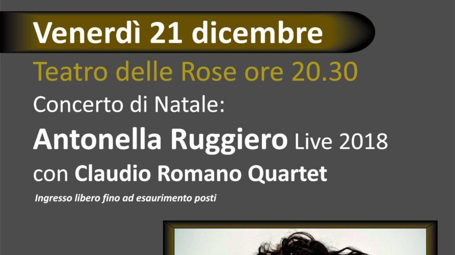 ANTONELLA RUGGIERO in concerto La grande Antonella Ruggiero con un quartetto d'eccezione. La Ruggiero è la voce indimenticabile che ha fondato e reso famosi i Matia Bazar in Italia e […]