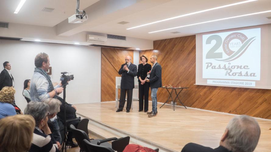 Si è svolto l'8 dicembre un grande evento al Salaria Restaurant presso il Salaria Sport Village: l'anniversario dei 20 anni del Club Ferrari Passione Rossa, tra i più importanti d'Italia. […]