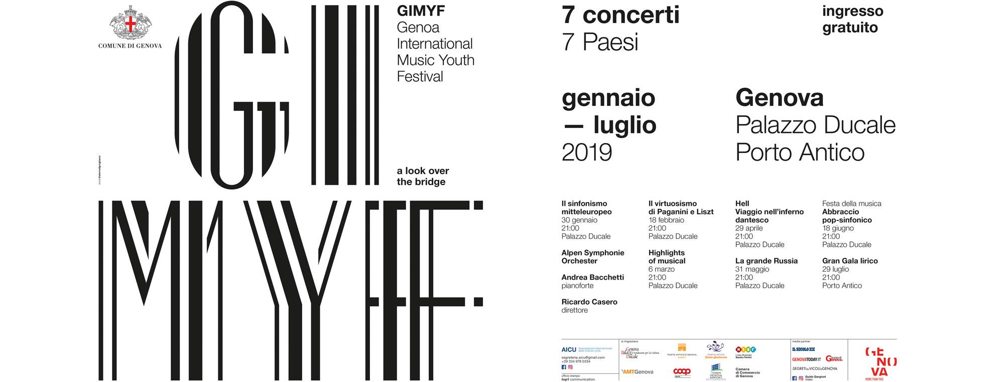 Unite Genova Calendario.Genoa International Music Youth Festival Da Gennaio A