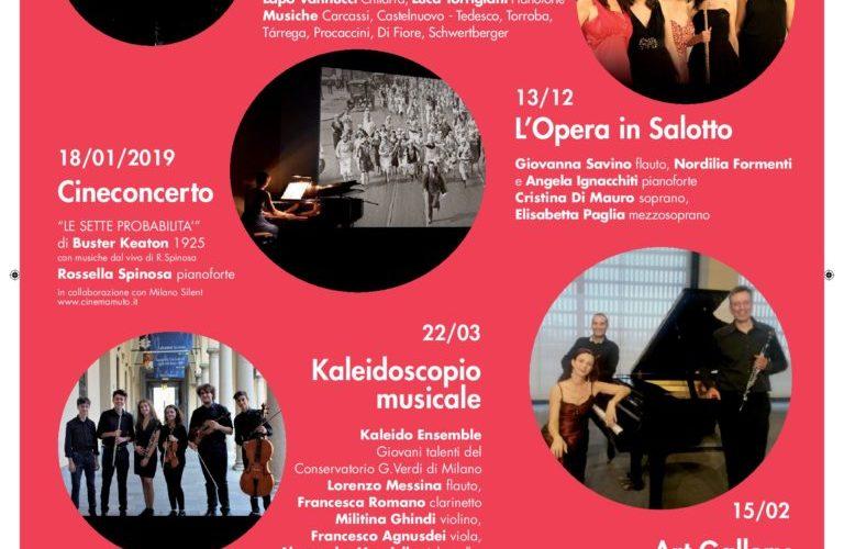 8 GENNAIO 2019 ALLE ORE 21:00 ALLO SPAZIO FRIDA DI MILANO Terzo appuntamento stagionale della rassegna CLASSICAMENTE: il prossimo 18 gennaio 2019, lo Spazio Frida di Milano ospiterà il cineconcerto […]