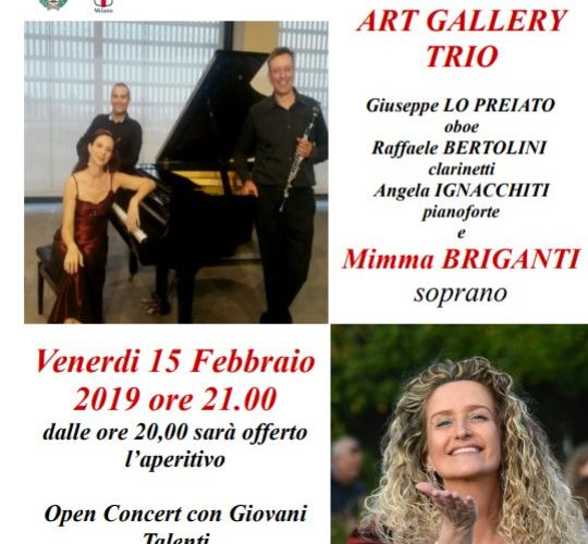 IL 15 FEBBRAIO 2019 ALLE ORE 21:00 ALLO SPAZIO FRIDA DI MILANO – Art Gallery Trio e Mimma Briganti  Un eccezionale programma che spazia dall'Opera all'Operetta, dai Tanghi argentini […]
