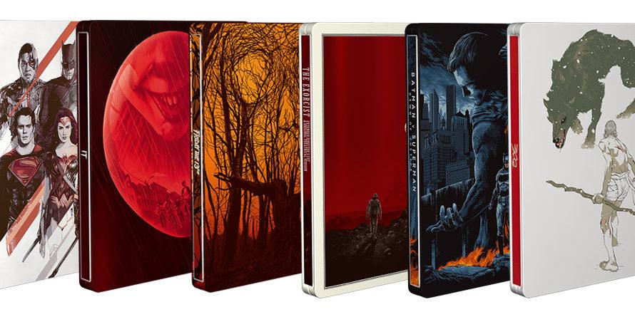 """Dopo il successo riscosso dai tre titoli horror della collection, arrivano nella Mondo x SteelBook quattro titoli Blu-ray dell'universo """"comics"""": Justice League, Batman v Superman, 300 e V Per Vendetta. […]"""
