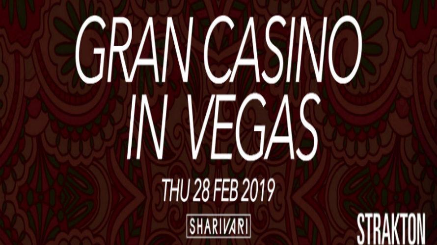 Giovedì 28 febbraio 2019 Strakton Records celebra allo Shari Vari di Roma il suo secondo compleanno con un party più che speciale: Gran Casino in Vegas. Una vera e propria […]