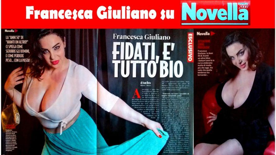 """Francesca Giuliano, la modella curvy di """"Avanti un altro"""" di Bonolis e opinionista del salotto di Barbara D'Urso, è la protagonista dello short movie """"PUSH OUT"""", di Clarissa Leone, che […]"""