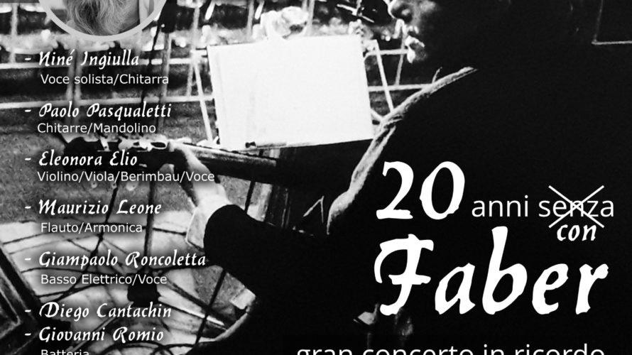 20 ANNI SENZA FABER – I Mercantinfiera 2.0 (gruppo musicale veronese, attivo ne panorama musicale da più di vent'anni) prongono uno spettacolo incentrato su alcuni brani tratti dal vasto repertorio […]